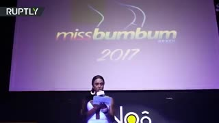 Miss BumBum 2017 contest takes over Sao Paulo