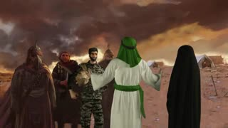 انیمیشن وصال عاشورایی محسن حججی