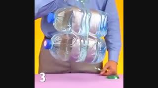 با بطری پلاستیکی چه کارهایی میتوان انجام داد؟؟؟