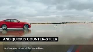 چگونه با خودرو دریفت بزنیم -BMW