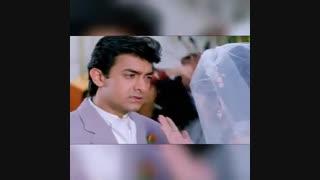 قسمت زیبای فیلم قلب  با بازی عامر خان