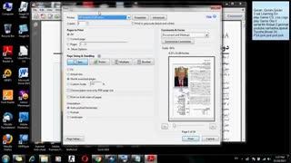آموزش پرینت  فایل پی دی اف متن و عکس رنگی در پرینتر های رنگی به صورت سیاه و سفید