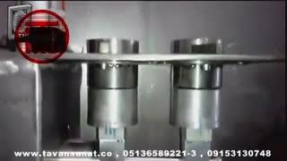 ویدئو دستگاه شیر پلی اتیلن روتاری تمام اتومات