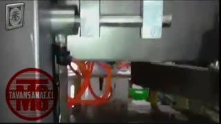 ویدئو دستگاه دستگاه پرکن ٬ سیلکن و دربندی مخصوص شیر و دوغ بطری پلی اتیلن