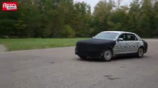 ویدئو آزمون رانندگی خودروی جدید رئیس جمهوری روسیه