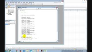 آموزش برنامه نویسی در اکسل EXCEL (بخش چهارم) - شریف کد