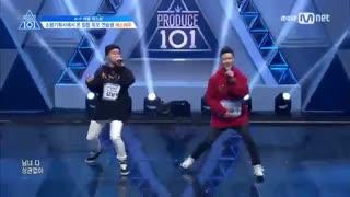 Produce 101 Season 2 Nam Hyun Kim and Jung Dong Soo