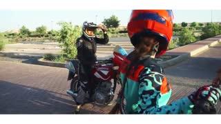 پرده ای از زندگی دختر موتور سوار ایرانی