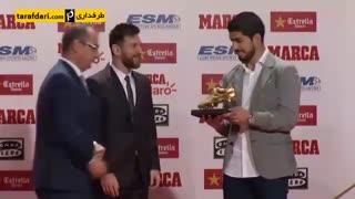 لیونل مسی ، برنده جایزه کفش طلای 2017