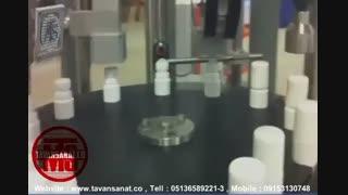یدئو دستگاه پرکن ظروف 40 سی سی پلی اتیلن