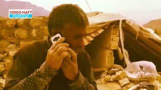 اشک شوق پیرمرد زلزلهزده از شنیدن صدای پسرش