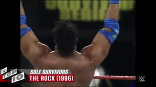 تاپ 10 : Best Survivor Series sole survivors