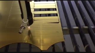 برش لیزری مولتی استایل برای ساخت پلاک