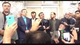 احمدی نژاد و بست نشینی