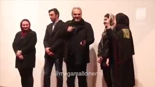 اکران فیلم صفر تا سکو با حضور فوتبالیست ها