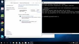 آموزش روشن کردن هات اسپات و تبدیل سیستم به وای فای در ویندوز 10