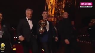 کریستیانو رونالدو برنده توپ طلای سال 2017 شد