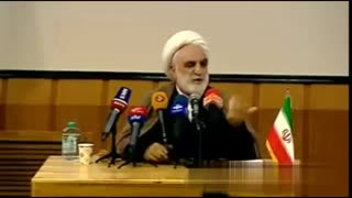 سوت بلبلی محسنی اژه ای وسط سخنرانی