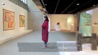طنز تلخ این دختر جوان با آثار باستانی دیدنی است !