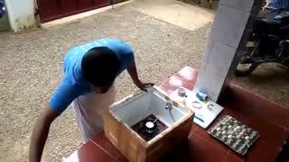آموزش ساخت دستگاه جوجه کشی ساده