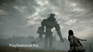 مقایسه کیفیت بازی Shadow of the Colossus بر روی PS2 - PS3 - PS4