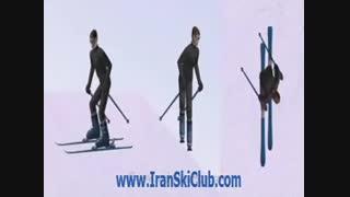 تغییر زاویه در هنگام تراورس در اسکی