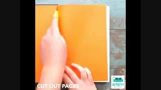 ساخت جعبه وسایل با کارتن