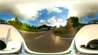 فایل باز-رانندگی در Saint Martin جزیره ای در سمت کشور فرانسه