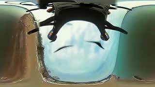 فایل باز - پرواز کواد کوپتر با دوربین 360 درجه برای اولین بار