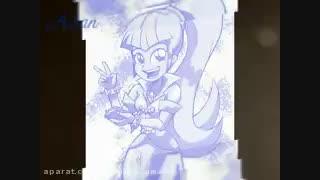 نقاشی همه شخصیت های رینبوراکس که چند تای اونا توی تیتراژ هستن