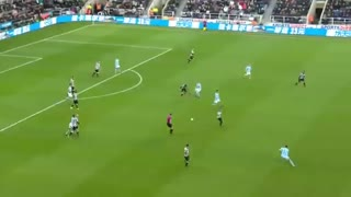 خلاصه فوتبال نیوکاسل 0-1 منچسترسیتی
