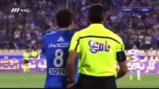 نتیجه بازی استقلال و استقلال خوزستان 7 دی 96 + خلاصه بازی