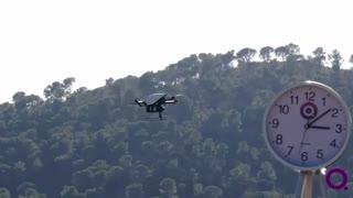 کوادکوپتر کوانتریم  می تواند 4 ساعت و 40 دقیقه در آسمان پرواز کند