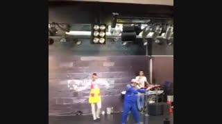 ویالون اکبر اقبالی رقص باله حسن فتحی