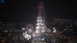آتش بازی سال نو میلادی - دبی