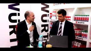 نمایشگاه خودرو-مصاحبه با مدیران وورث - گنجی پخش