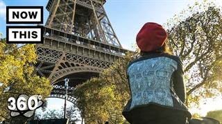 اگر دوست دارید حال و هوای پاریس در این روزها رو ببینید این ویدیو 360 را از دست ندهید