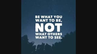 What you want to be :)