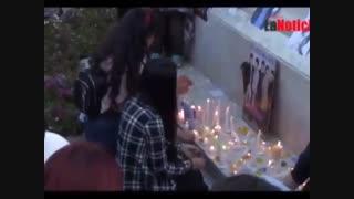 مراسم خاکسپاری کیم جونگ هیون