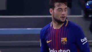 حرکات خوزه آرنایز مهاجم جوان بارسلونا مقابل سلتاویگو