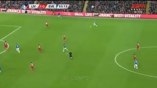 خلاصه فوتبال لیورپول 2-1 اورتون