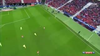 خلاصه فوتبال اتلتیکو مادرید 2-0 ختافه