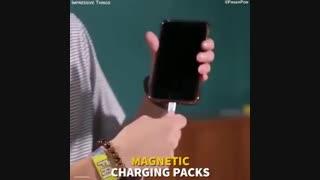 اینبار مشکل شارژ تلفنهای هوشمند؛ هوشمندانه برطرف شد