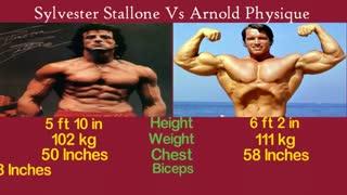 مقایسه آرنولد شوارتزنگر و سیلوستر استالونه