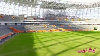 ورزشگاه سارانسک روسیه