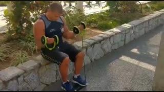 دستگاه لاغری و چربی سوز شکم دستگاه ورزشی کششی