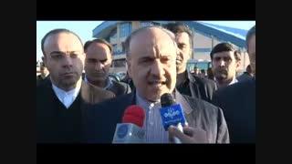 سفر وزیر به نیشابور : آیا استادیوم انقلاب بعد از 25 سال تکمیل میشود؟