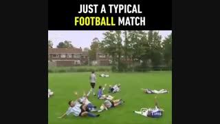 روند عادی مسابقات فوتبال