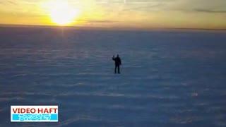 اقیانوس اطلس یخ زد!