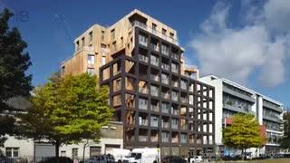 بلندترین ساختمان های چوبی جهان - sakhtemoon.com